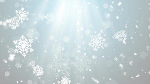 Christmas Winter Snowflakes 3 Animation