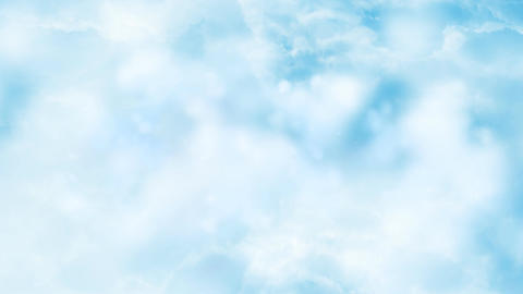 Clouds Fly Through 1- Loopable Background stock footage