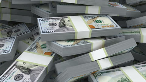 Money Fill The Screen stock footage