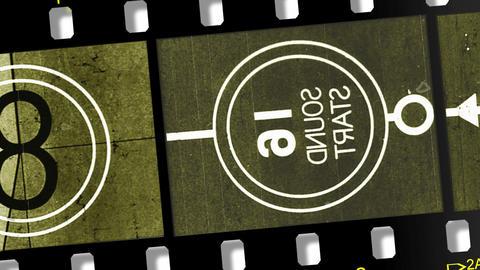 Film Countdown 2 W Sound Footage