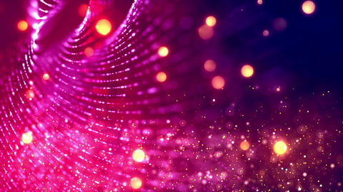 Glitter Wall 1 – Loopable Background CG動画素材