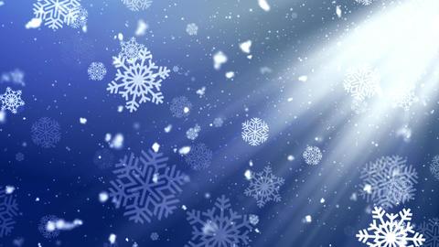 Holiday Snowflake Dark 2 Animation