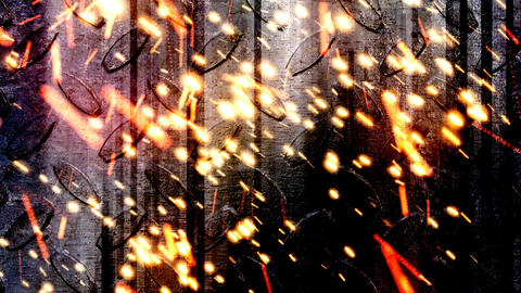 Industrial Sparks 2 Stock Video Footage