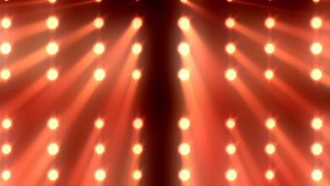 Lights Show 2 stock footage
