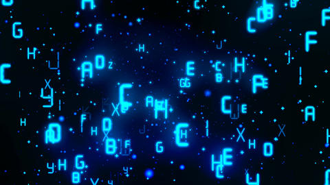 Matrix Digital Alphabets 2 Animation
