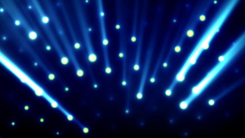 Stage Lights 2 Stock Video Footage