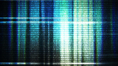 TV Noise Glitch 2 B Animation
