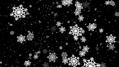 Winter Snow and Snow Flakes 3 Animation