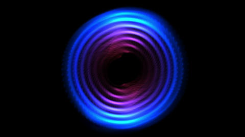 4k Abstract tech turbine round circle hole,ring round time tunnel,energy tech Live Action