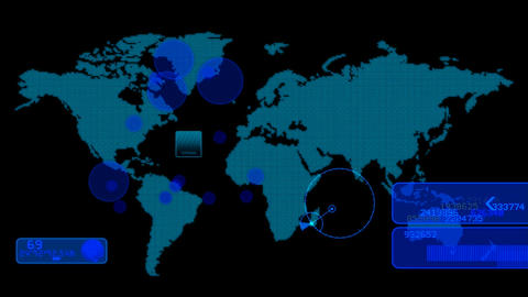 hud world monitor Animation