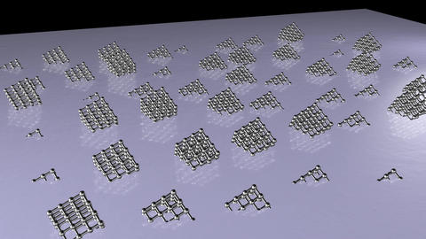 Silver cubic array 1 Animation