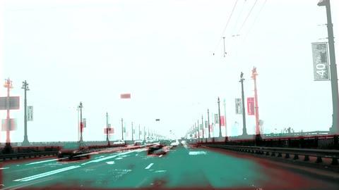 On the bridge Footage