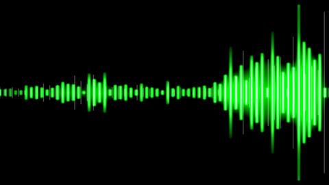 Waveform Loop_1 stock footage