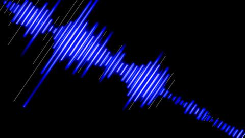 Waveforma Loop_2 stock footage