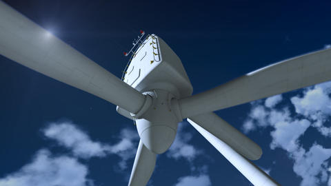 Wind Generator Crashes Animation