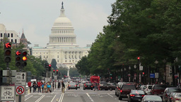 Washington D.C. Capitol Building 2 stock footage