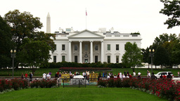 White House Time-Lapse Zoom In stock footage