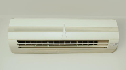 Air conditioner in office Footage
