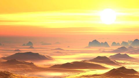 The White Sun Of The Desert Hot Tin stock footage
