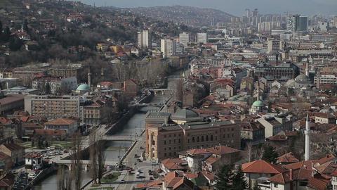 Sarajevo, Bosnia and Herzegovina Footage