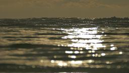 Atmospheric sea horizon in sunrise light, Bohol, Philippines