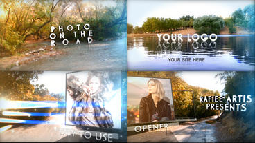 Photos On The Road After Effects Project