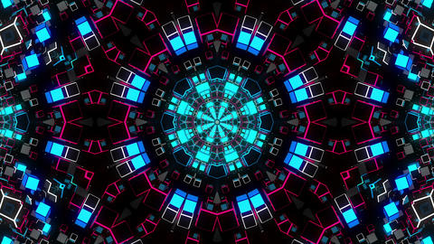 VJ Loop Kaleidoscope 24 Animation