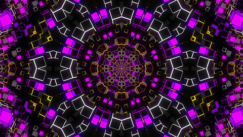 VJ Loop Kaleidoscope 20 Animation
