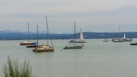 Ammersee in Bavaria Footage