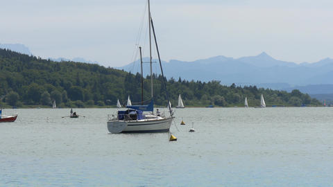 Ammersee in Bavaria Live Action
