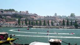 Douro river panorama Footage