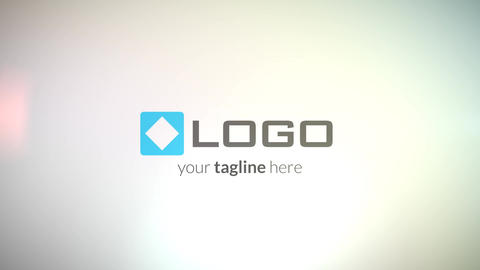 Corporate Business Logo Pieces Spin Light Formation Intro After Effects Template
