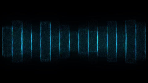 Blue Frequencies Animation