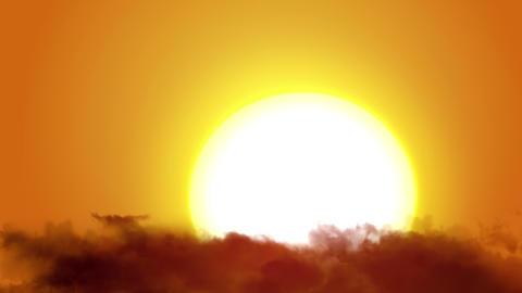 Sunrise Clouds Time Lapse - 4K Footage