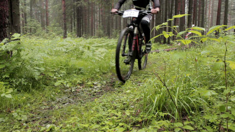 Cross Country 5 stock footage