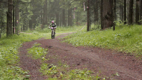 Cross Country 12 stock footage