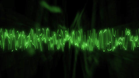 Green frequencies Animation