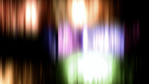 Colorful Blurry Abstract stock footage