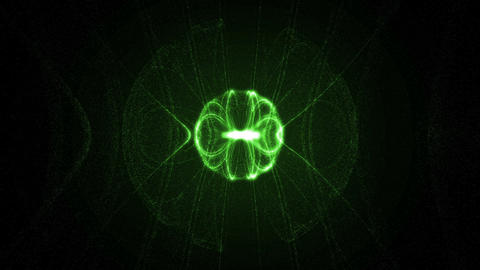 Green electronic abstract Animation