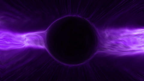 Cosmic black holes Animation