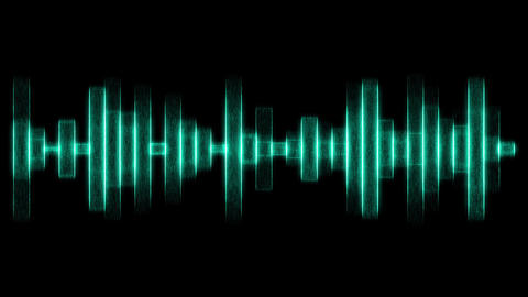 Green audio effects Animation