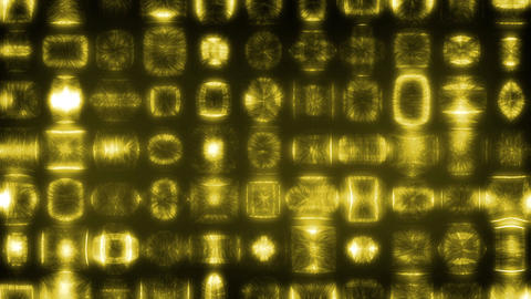 Yellow exotic abstract Animation