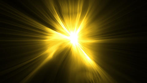 Yellow bright light effects Animation