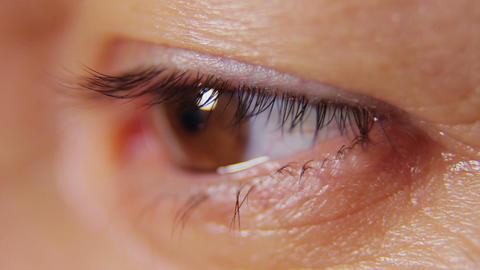 Closeup Shot Of Boy Eye 05 Footage