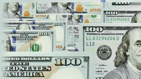 Dollar Fly Loop 2 stock footage