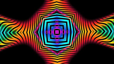 VJ Kaleidoscope - Exotica II - 02 stock footage