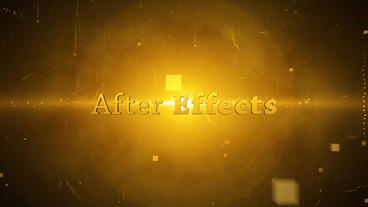 Cinema Titles After Effects Project