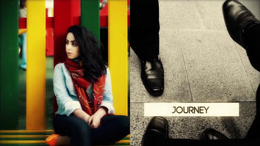 Colorama Style Slideshow Slides After Effects Template