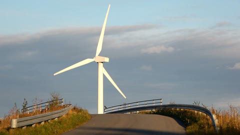 Wind turbine Stock Video Footage