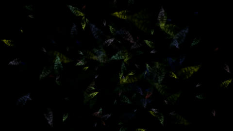 micro bio background,transparent... Stock Video Footage